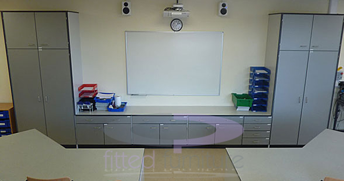 CP Fitted Furniture Ltd // storage & work units for educational establishments