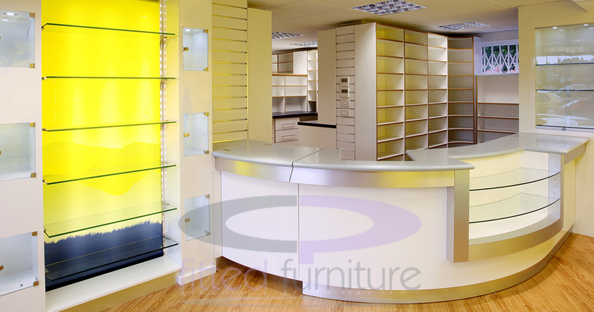 CP Fitted Furniture Ltd // pharmaceutical units